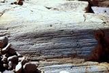 glaciated rock at Conrad glacier