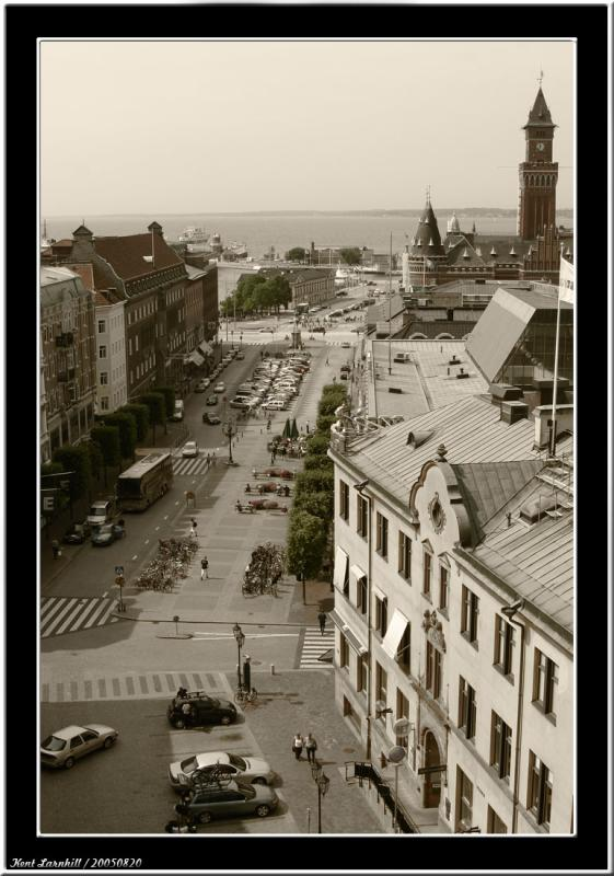20050820 - View over Helsingborg -