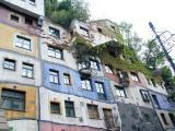 Painter Maler Friedensreich Hundertwasser and Prof. Josef Krawina, architect