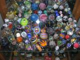 Lower bottom shelf - Brendon's collection, woohooo!