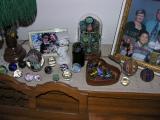 Right side - Ferguson alien eggs, small glass top collection, MM filigranas