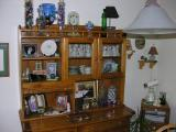 Lots of room to work in the china hutch