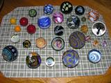 2005 Wheaton Village Collab Bowl Marbles