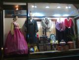 Mannequins in Hanbok, The Korean Traditional Dress