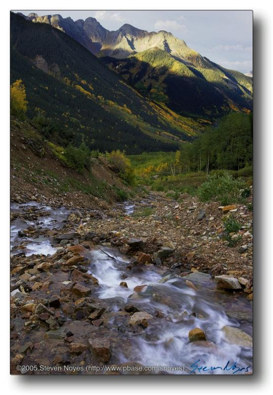 Colorado : Ophir Canyon : Chapman Gulch Spring