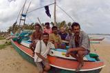 Fishermen at SW coast