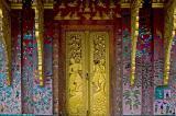 Artwork at  Wat Xiang Tong