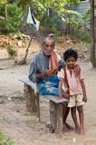 Grandfather, grandchild......