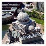 The Christian Science Center from the Pru