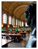 Back Bay: Boston Public Library - Bates Hall