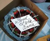 Good Luck, Annie!