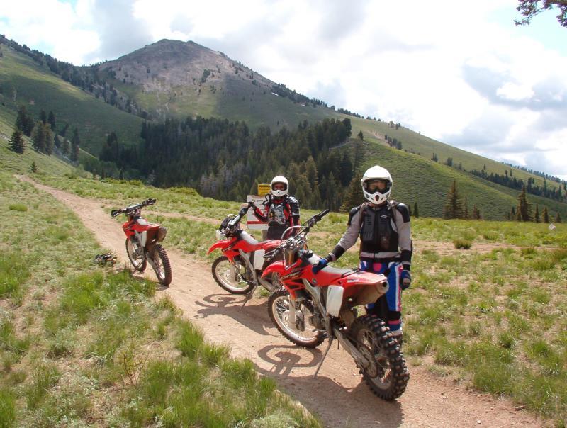 Iron Mountain, Idaho on CRF450X and CRF250Xs