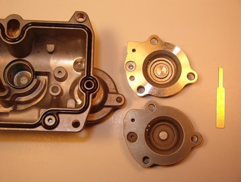 FCR Carb Accelerator Pump Covers and Pump Timing Linkage Spacer