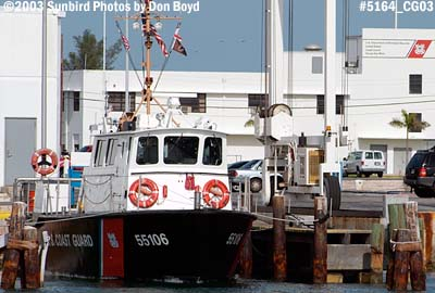 2003 - USCG boat 55106 Coast Guard stock photo #5164
