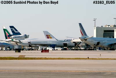 alitalia finnair iberia and air france on concourse f at miami international airport airliner aviation stock photo 3383 photo sunbird photos by don boyd photos at pbase com alitalia finnair iberia and air