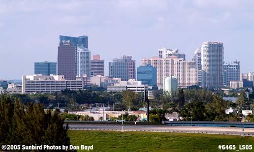 Downtown Ft. Lauderdale landscape stock photo #6465