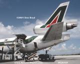 2001 - Alitalia MD-11C I-DUPI Giacomo Puccini at Miami aviation airline stock photo #EU0107