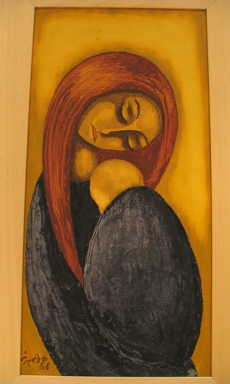 Mother and child, 1986