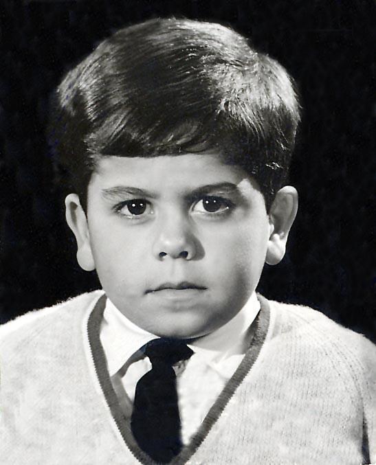 Passport photo - 1965 (aged 6)