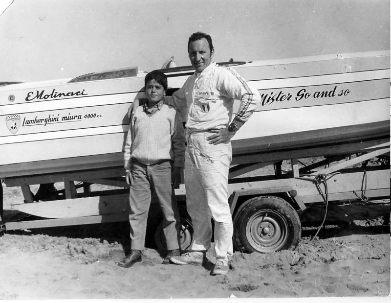 E.Molinari and I - 1968 (aged 9)