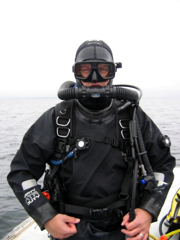 Dan with his new toy - a Mistral Regulator!!!