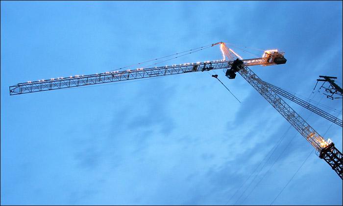 Christmas Crane