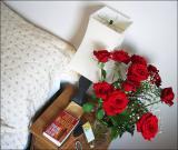 Her bedside table
