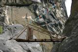 Holzbruecke / wooden bridge