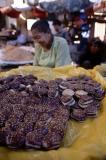 A Mandalay market delicacy.