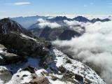 Vers l'ouest depuis le sommet de la Pique Longue
