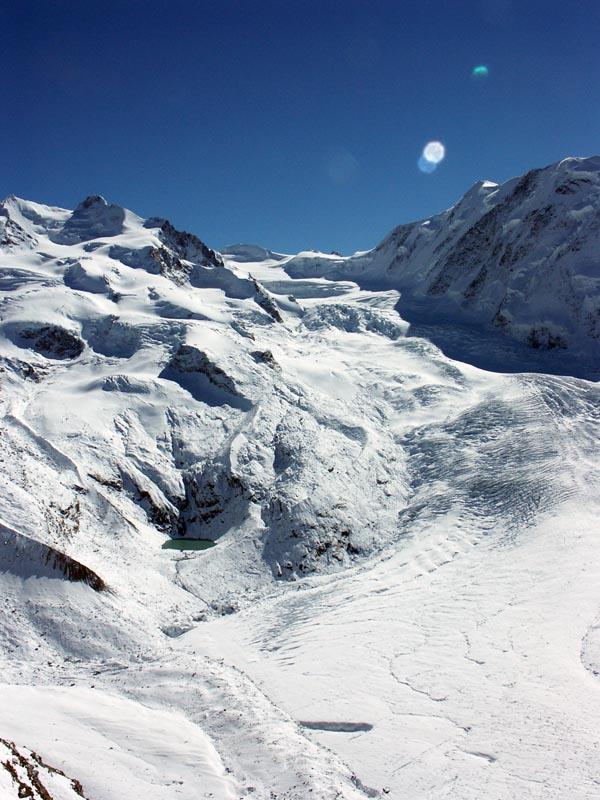 Glacier from Gornergrat 2