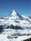 Matterhorn and Gornergrat train