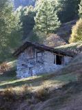 Rural house on Matterhorn foothills