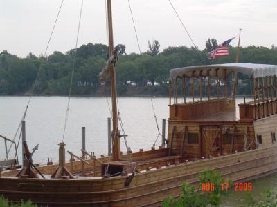 Replica Keelboat