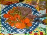 steack - légumes