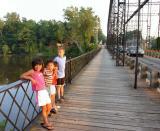 june 24 kids on bridge closer