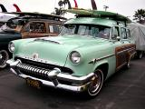 1954 Mercury Monterey 4-door 8 passenger station wagon - Click on photo for more info