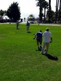 Lawn Bolwing at Laguna Beach