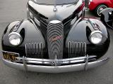 Grille Detail of a 1940 LaSalle Series 52 Coupe