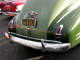 Detailed View of rear of a 1941 Buick Fastback Coupe