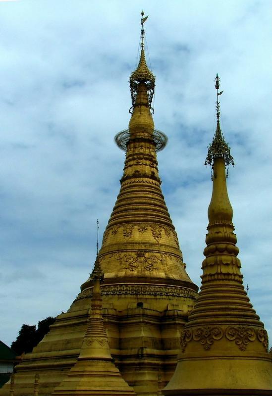 Burmese Temple.