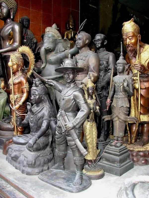 A Multitude of Statues