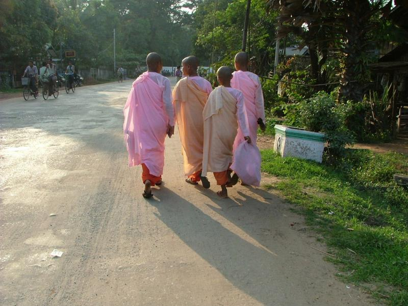 Walking Nuns