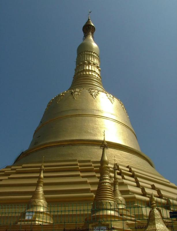 Another Golden Stupa
