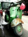 The Green Vespa