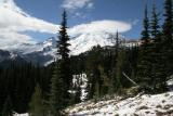 Hiking the Wonderland Trail around Mt. Rainier Washington - Sept 2005