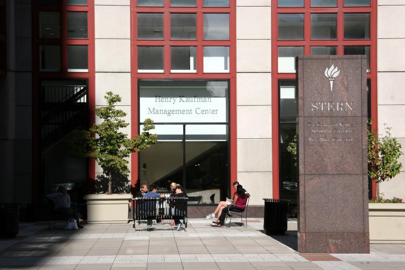 NYU Business School Plaza