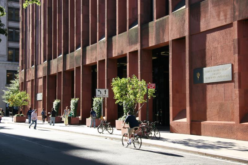 NYU Library - Street Level View
