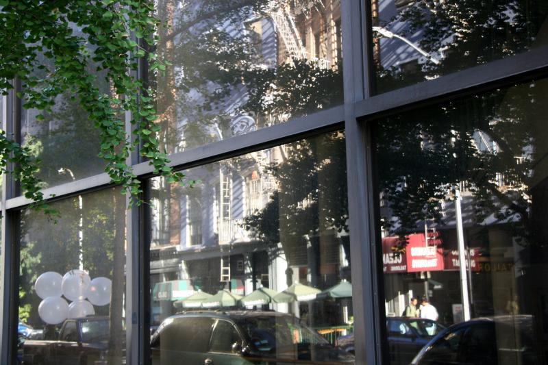 Hebrew Union College Window Reflections