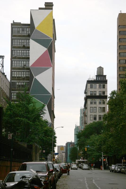 View Toward Mercer Street Eastward